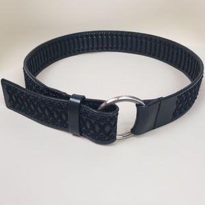 Genuine Leather Black Belt Size Small
